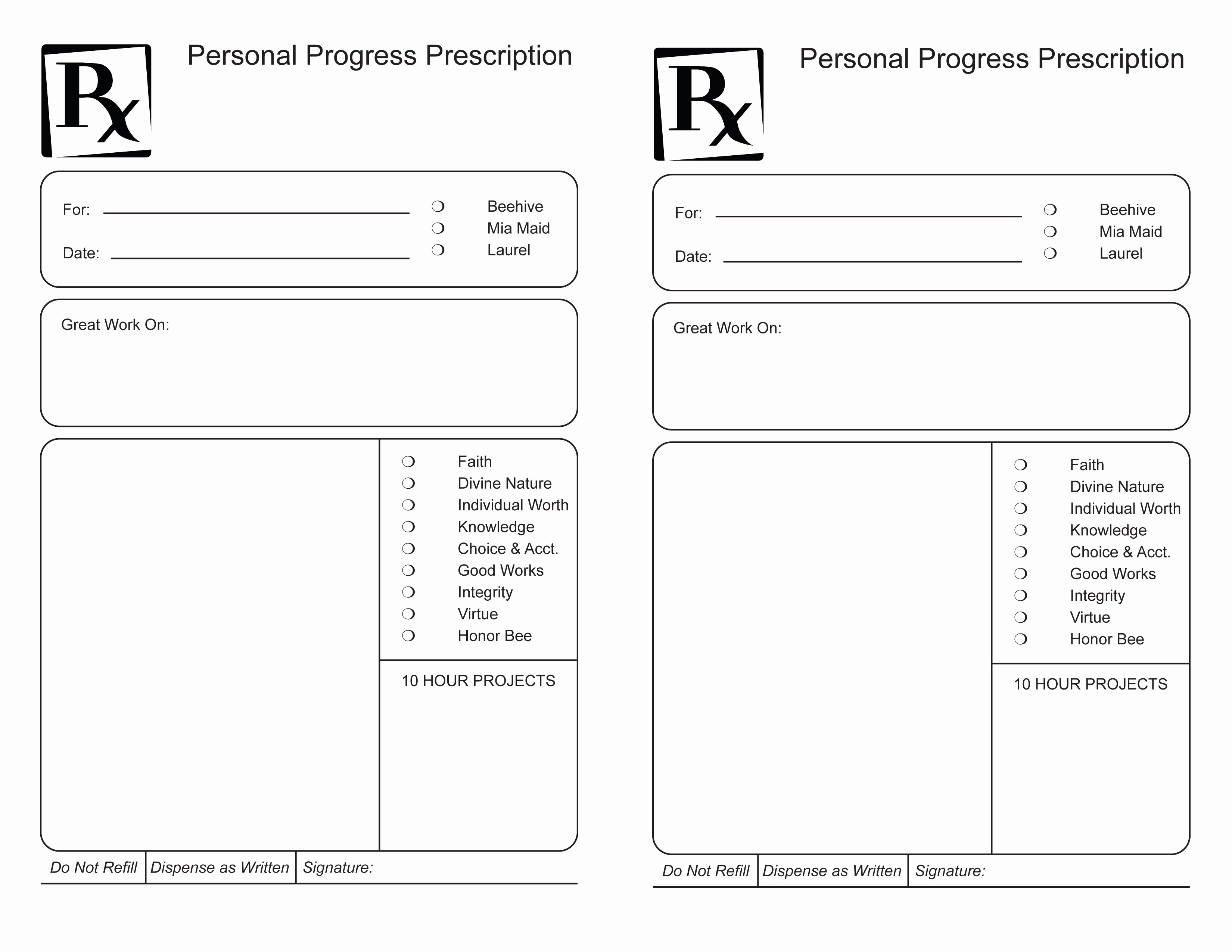 Blank Rx Template to Pin On Pinterest Pinsdaddy