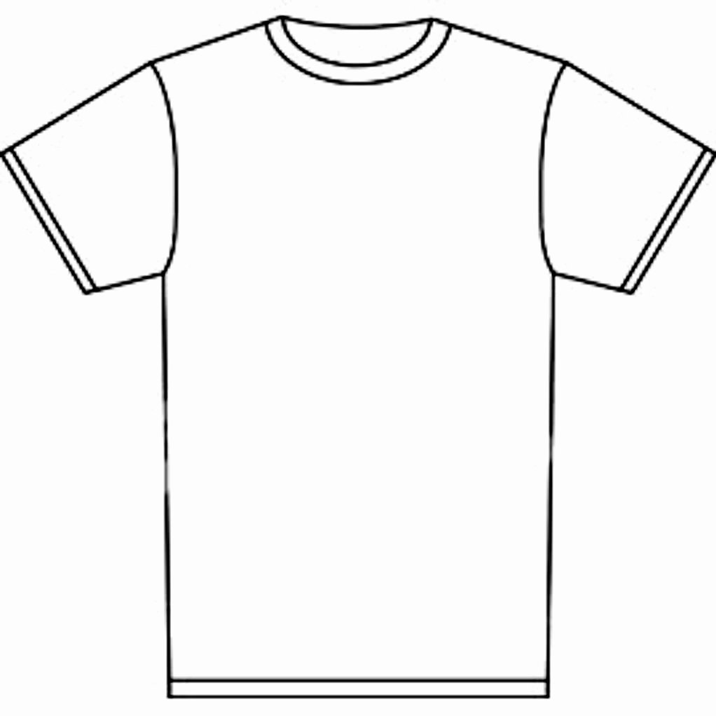 Blank T Shirt Template Adobe Illustrator