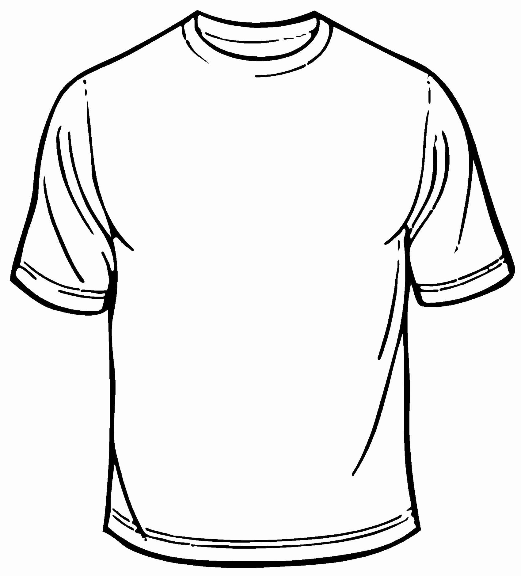 Blank T Shirt Template