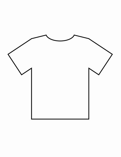 Blank T Shirt Templates
