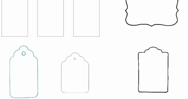Blank T Tag Templates Printables Pinterest