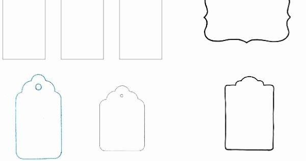 Blank T Tag Templates Printables Pinterest