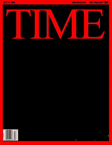 Blank Time Magazine Cover Framing History