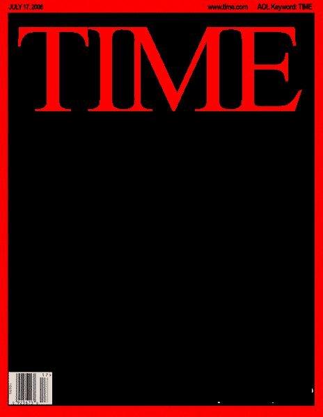 Blank Time Magazine Cover Random Stuff