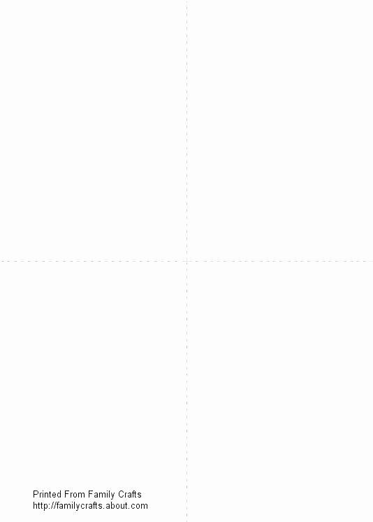 Blank Trading Card Template – Flybymedia