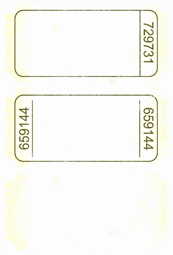 Blank Train Ticket Template Admission Word How to Create