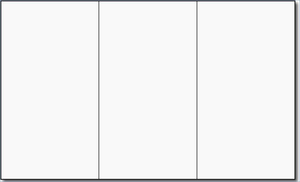 Blank Tri Fold Brochure Template Powerpoint – Playitaway