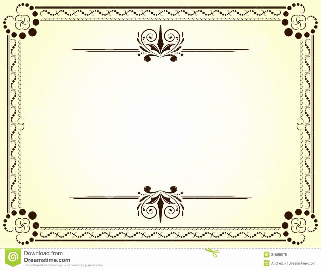 blank vector printable blank certificates