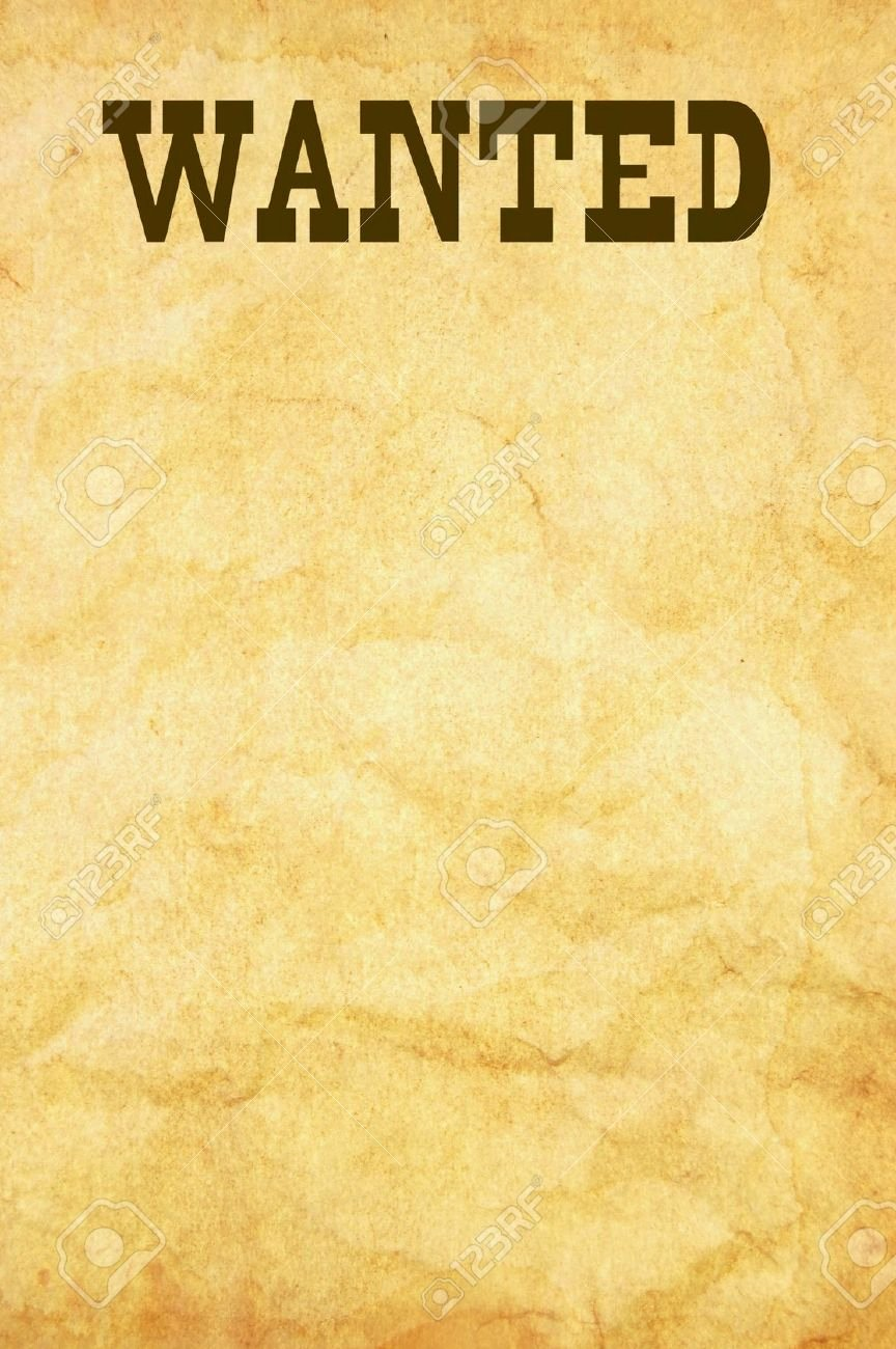 Blank Wanted Poster to Pin On Pinterest Pinsdaddy