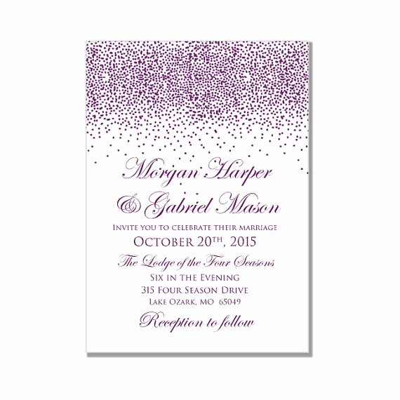 Blank Wedding Invitation Templates for Word Matik for