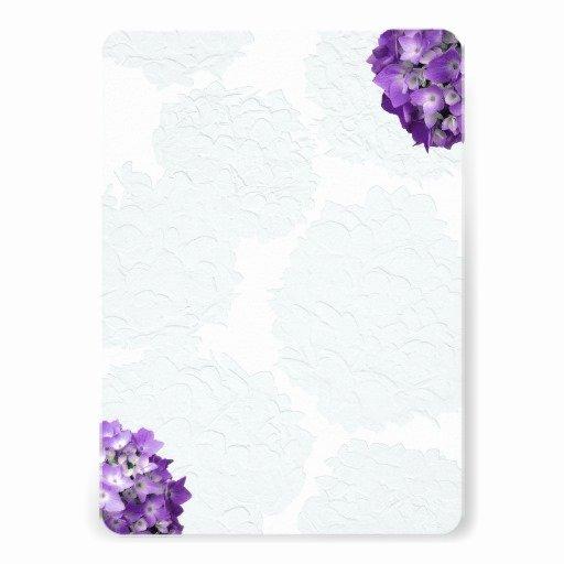 Blank Wedding Invitation Templates Purple Matik for