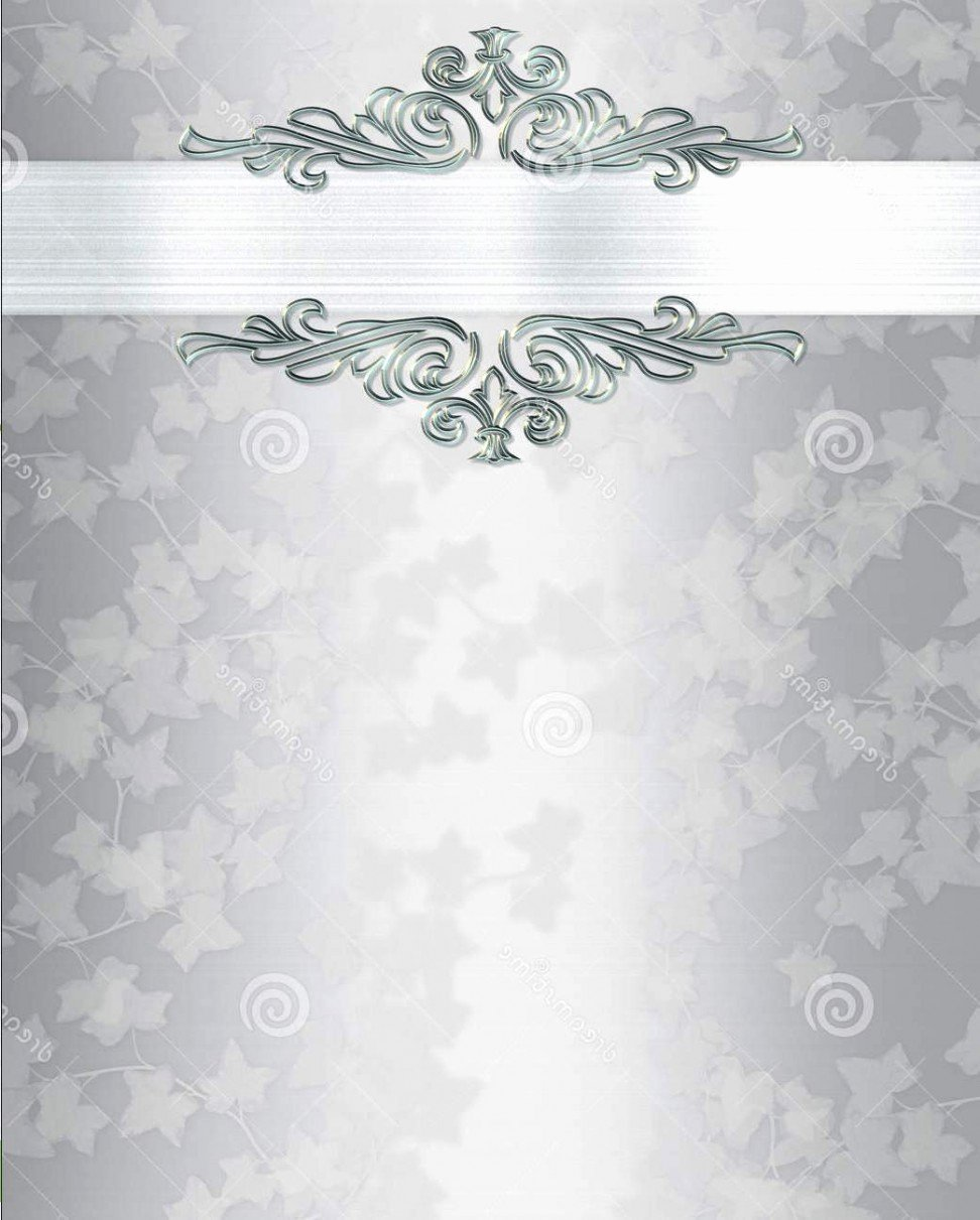 Blank Wedding Invitations Blank Wedding Invitations for