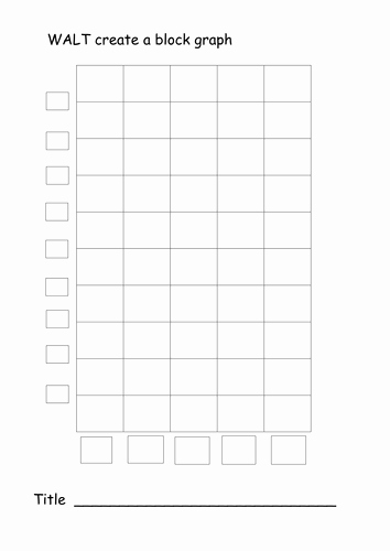 Block Graph Template by Lukeliamlion Teaching Resources