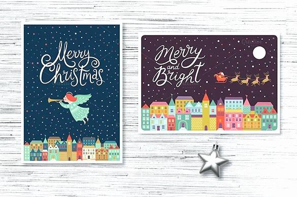 Blog Tutorial 1 Adobe Illustrator Christmas Card Template