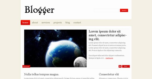 Blogger Free Blog Template