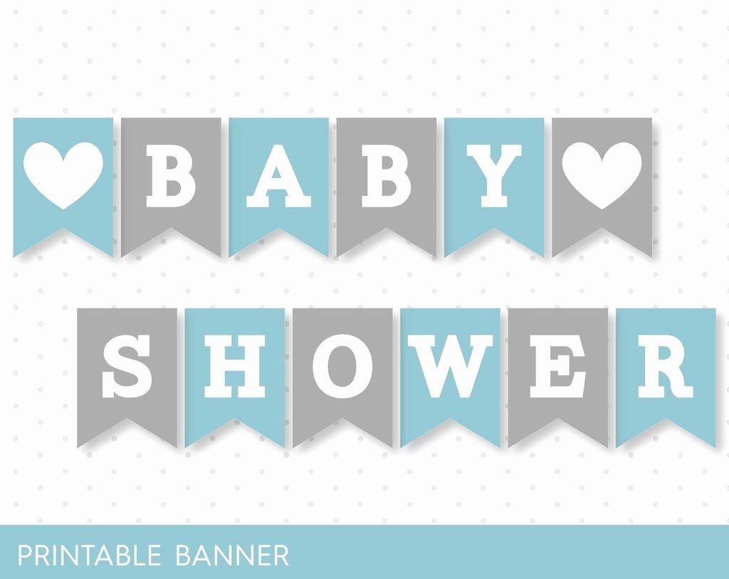 Blue Banner Grey Banner Oh Baby Banner Oh Boy Banner