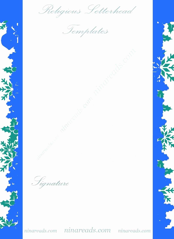 blue theme religious letterhead templates 2308yhg