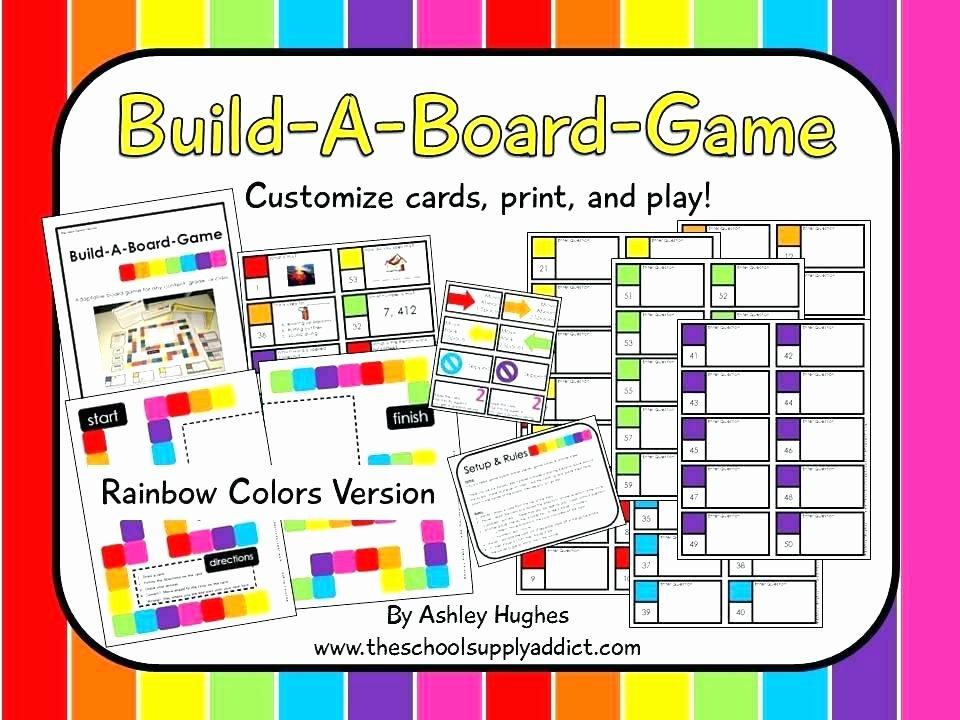 Board Game Template Editable – Danielmelofo