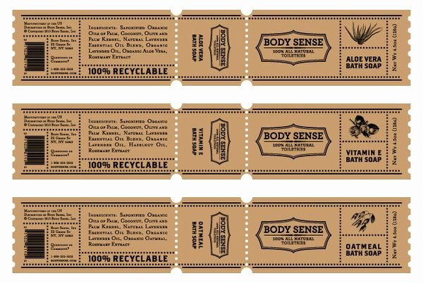 Body Sense Packaging On Behance Packaging