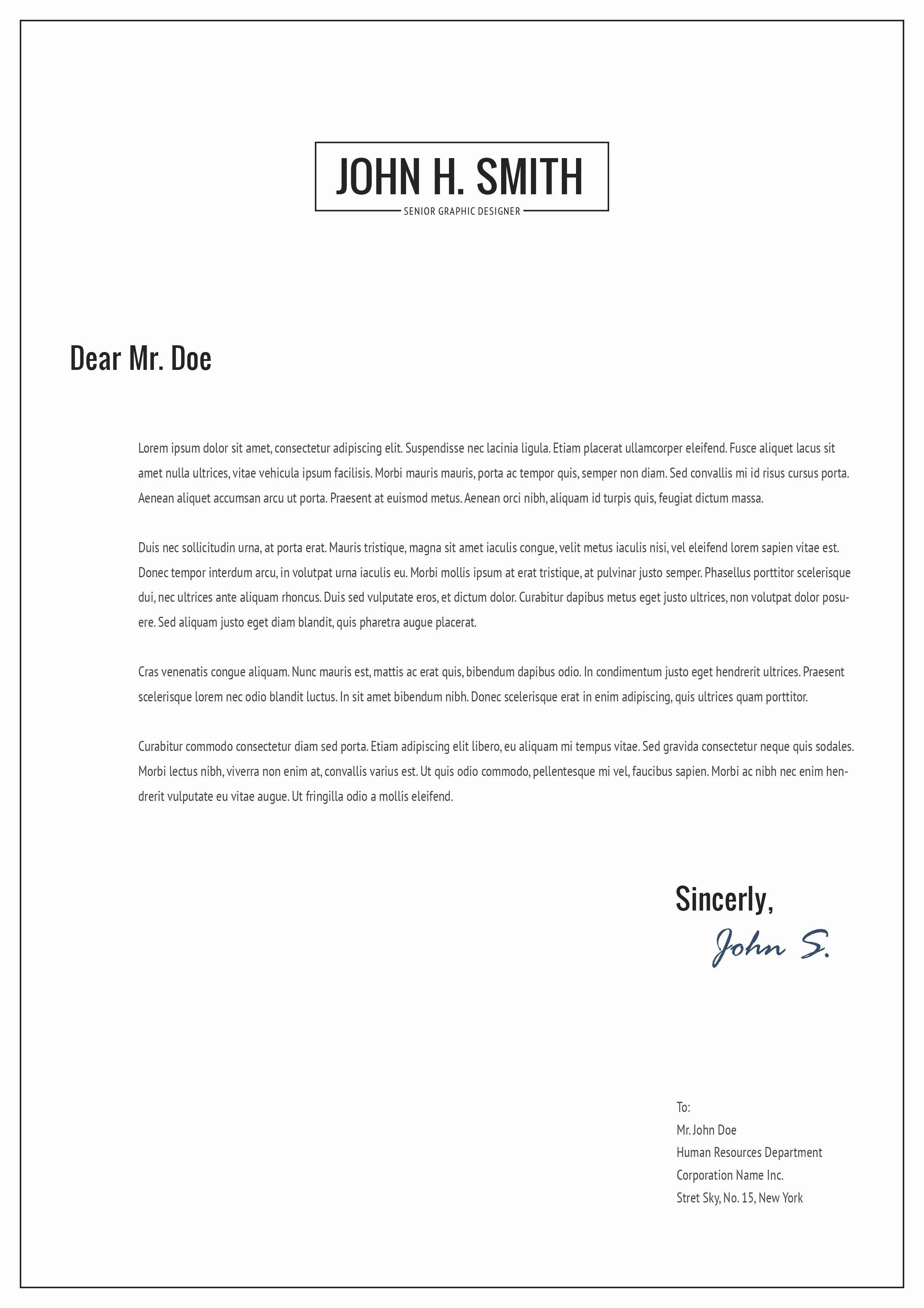 bonus letter template