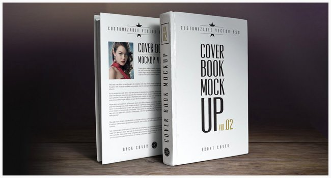 Book Cover Design Template – 54 Psd & Illustration