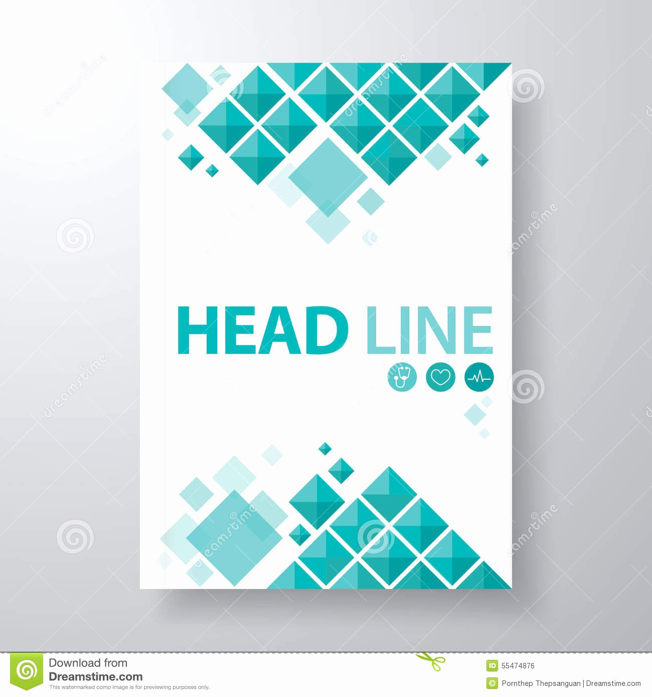 Book Cover Stock Vector Illustration Of Booklet Blank