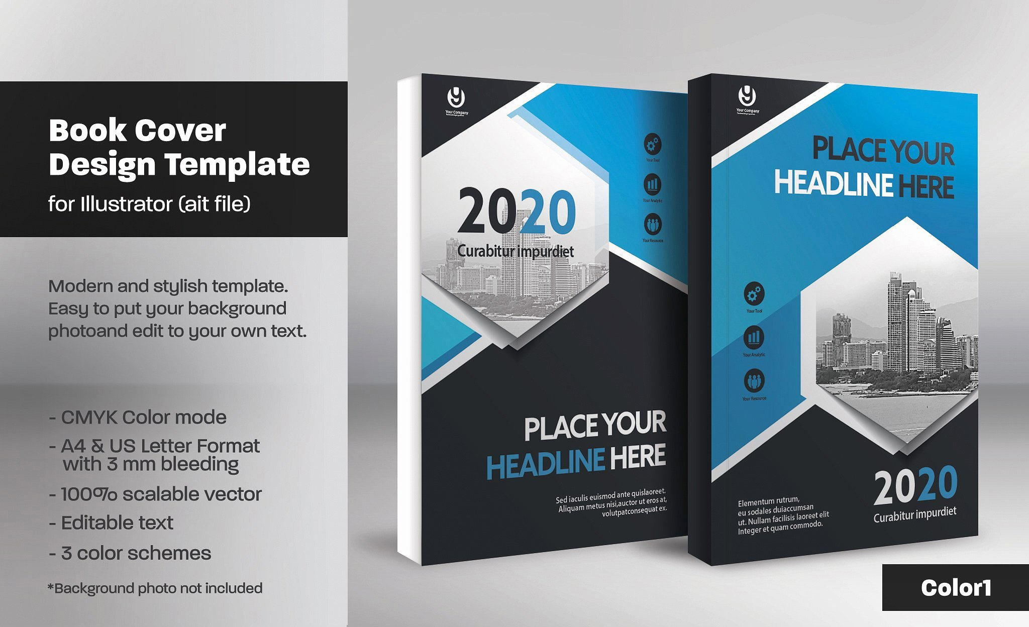 Book Cover Template 13 Templates Creative Market