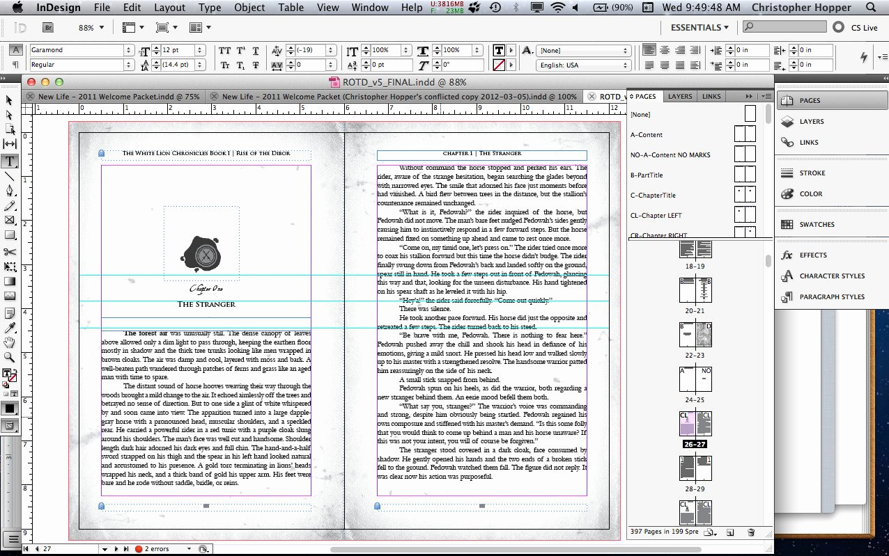 Book Design Layout Indesign Templates Resume Examples