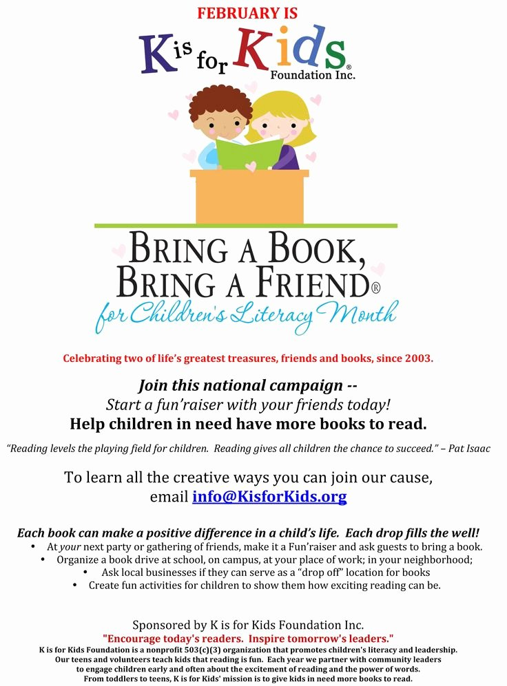 Book Drive Flyer Template Google Search