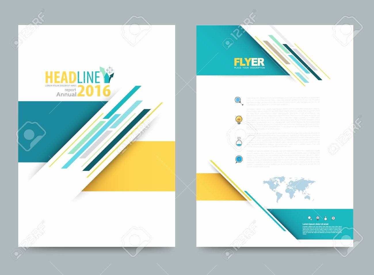 Book Front Cover Design Template Vector Book Cover