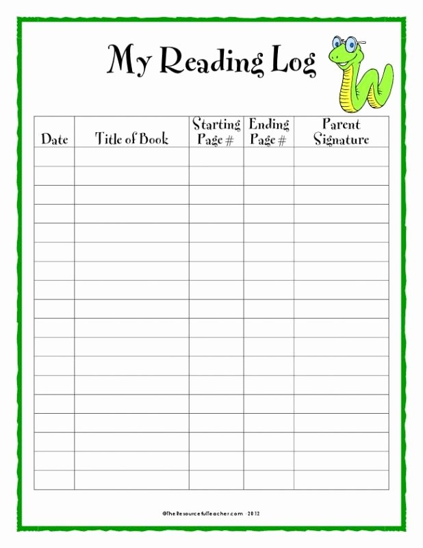 Book Template Google Docs