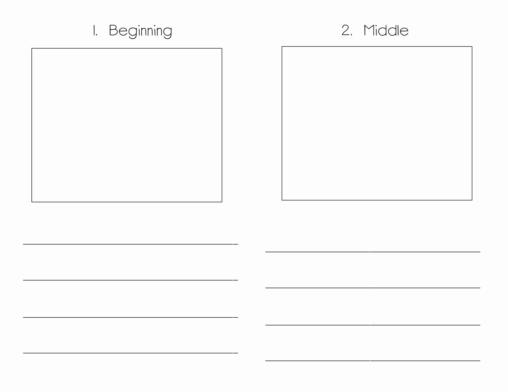 Book Writing Template Kindergarten Monomyth