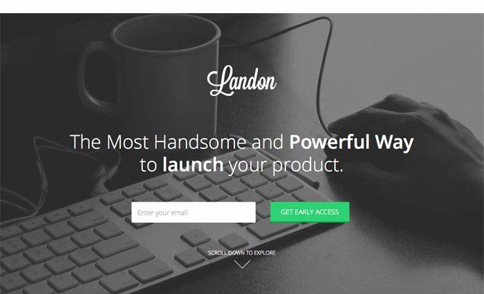 Bootstrap 3 Landing Page Templates Free Templates