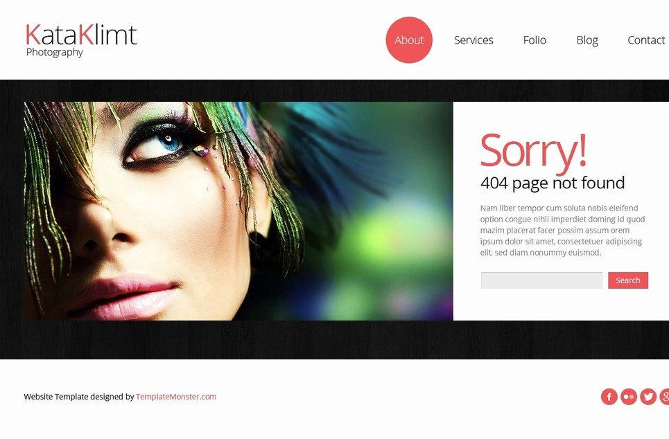 Bootstrap Free Responsive Template Graphy