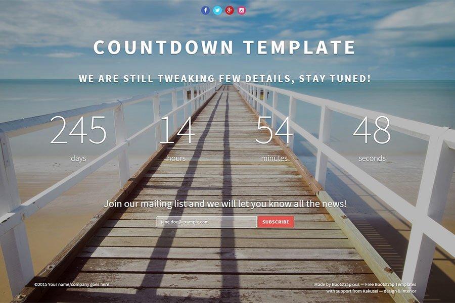 Bootstrap Landing Pages 10 Awe Inspiring Free & Premium