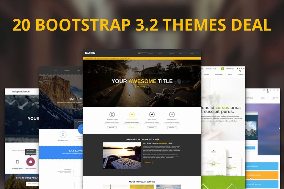 Bootstrap Premium Templates Free Download Templates