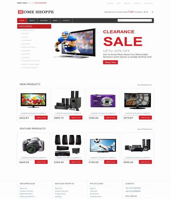 Bootstrap Templates E Merce Free Download Templates