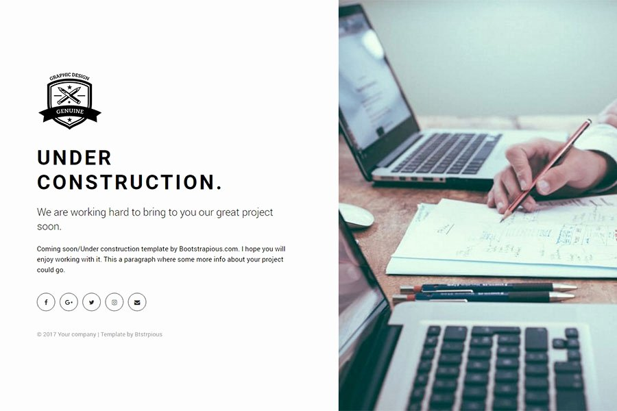 Bootstrap Under Construction Free Ing soon Bootstrap