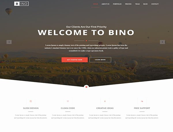 Bootstrap Website Templates Free Download 2017