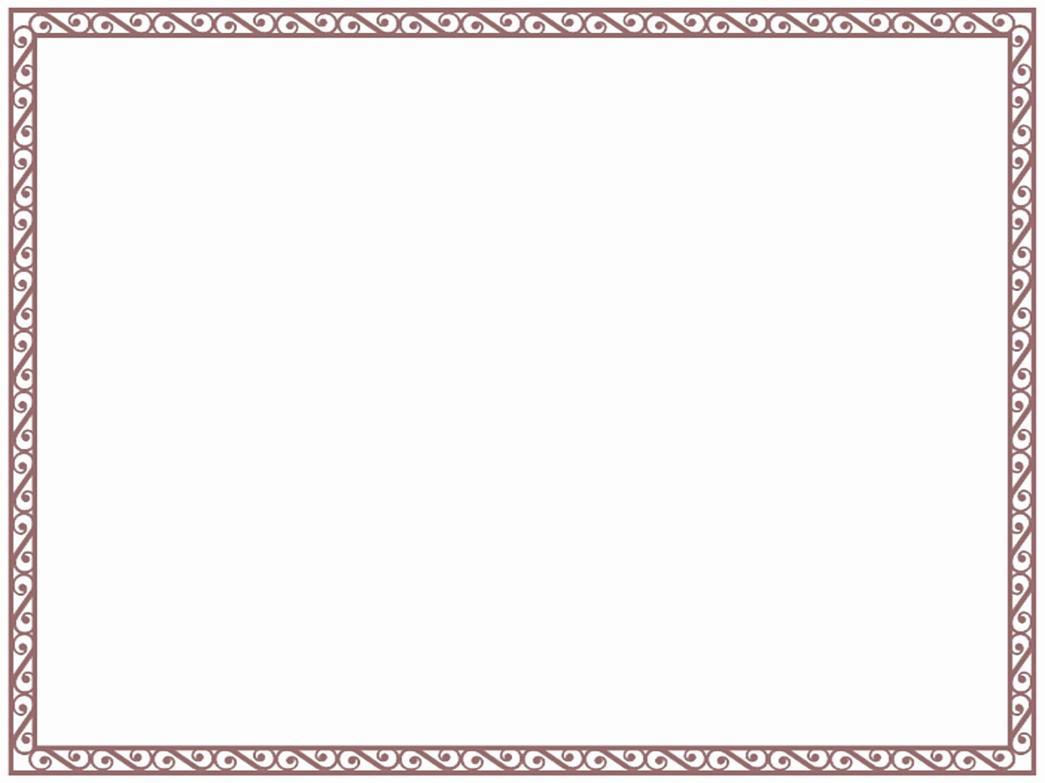 Border Template for Word Mughals