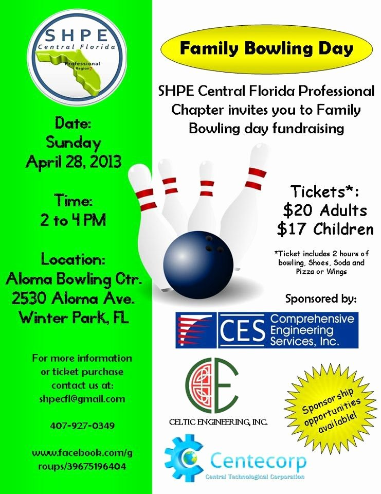 Bowling Fundraiser Flyer Template Yourweek 343c92eca25e