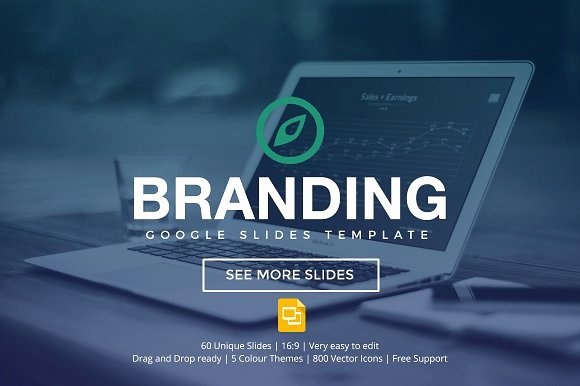 Branding Google Slides Template Presentation Templates