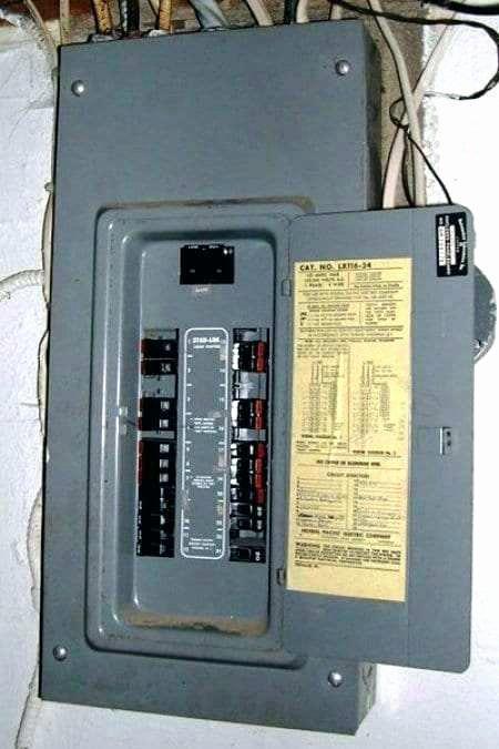 Breaker Box Panel Labels Circuit Breaker Panel Directory