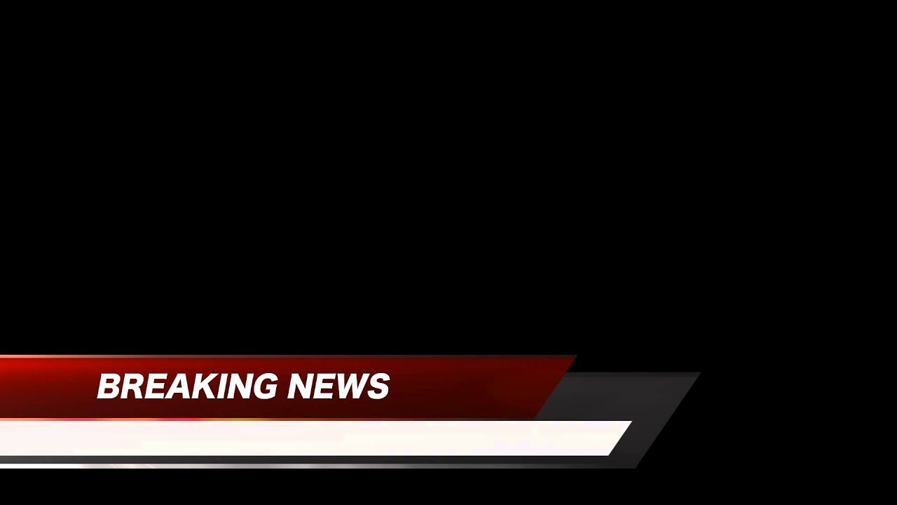 Breaking News Lower Third Red Free Hd Stock