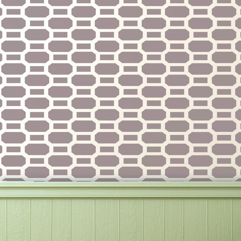 Brick Allover Stencil Reusable Pattern for Walls Diy Decor