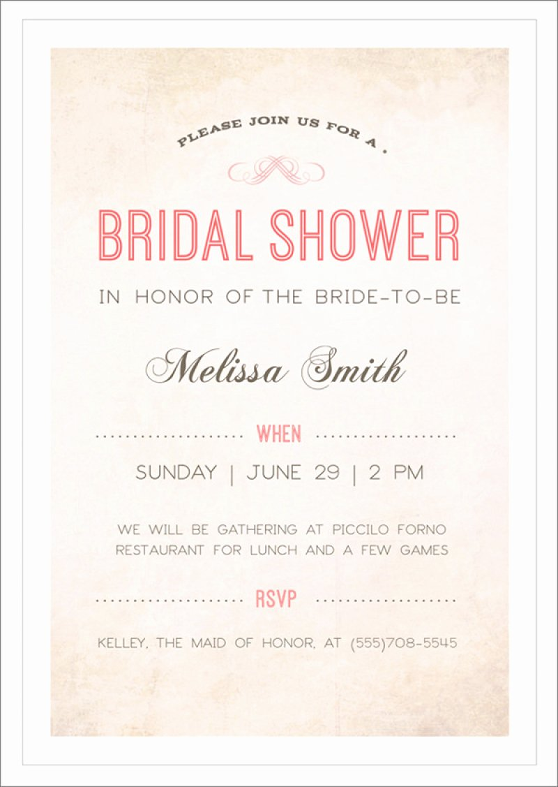 Bridal Shower Free Template Invitation – orderecigsjuicefo