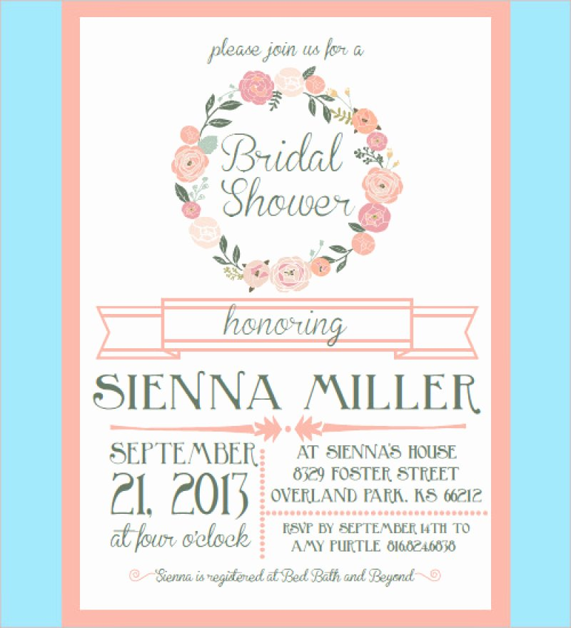 Bridal Shower Invites Templates – orderecigsjuicefo