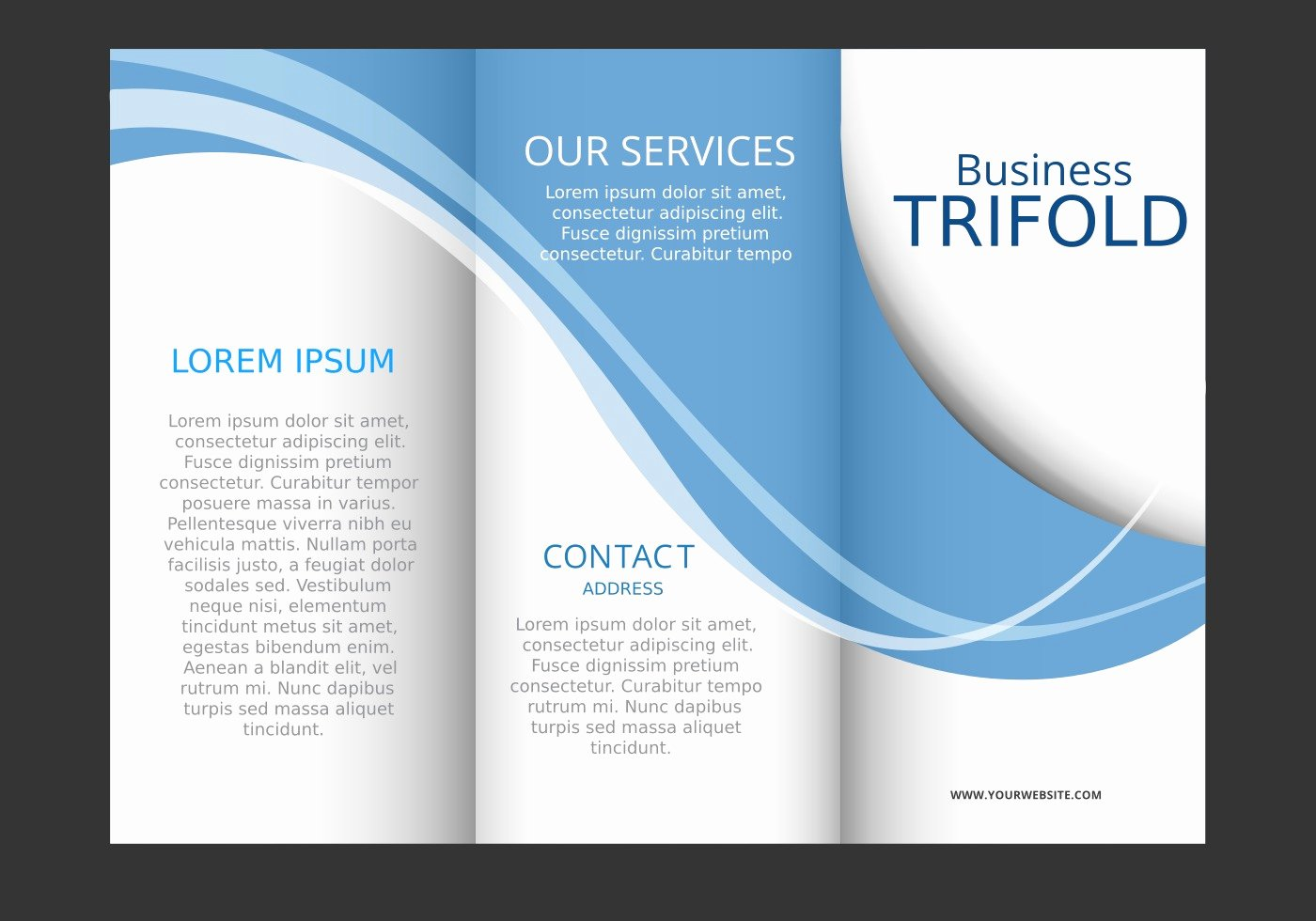 Brochure Template Free Vector Art Free Downloads