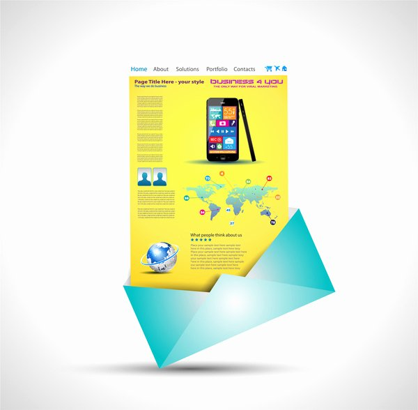 Brochure Template Free Vector In Adobe Illustrator Ai