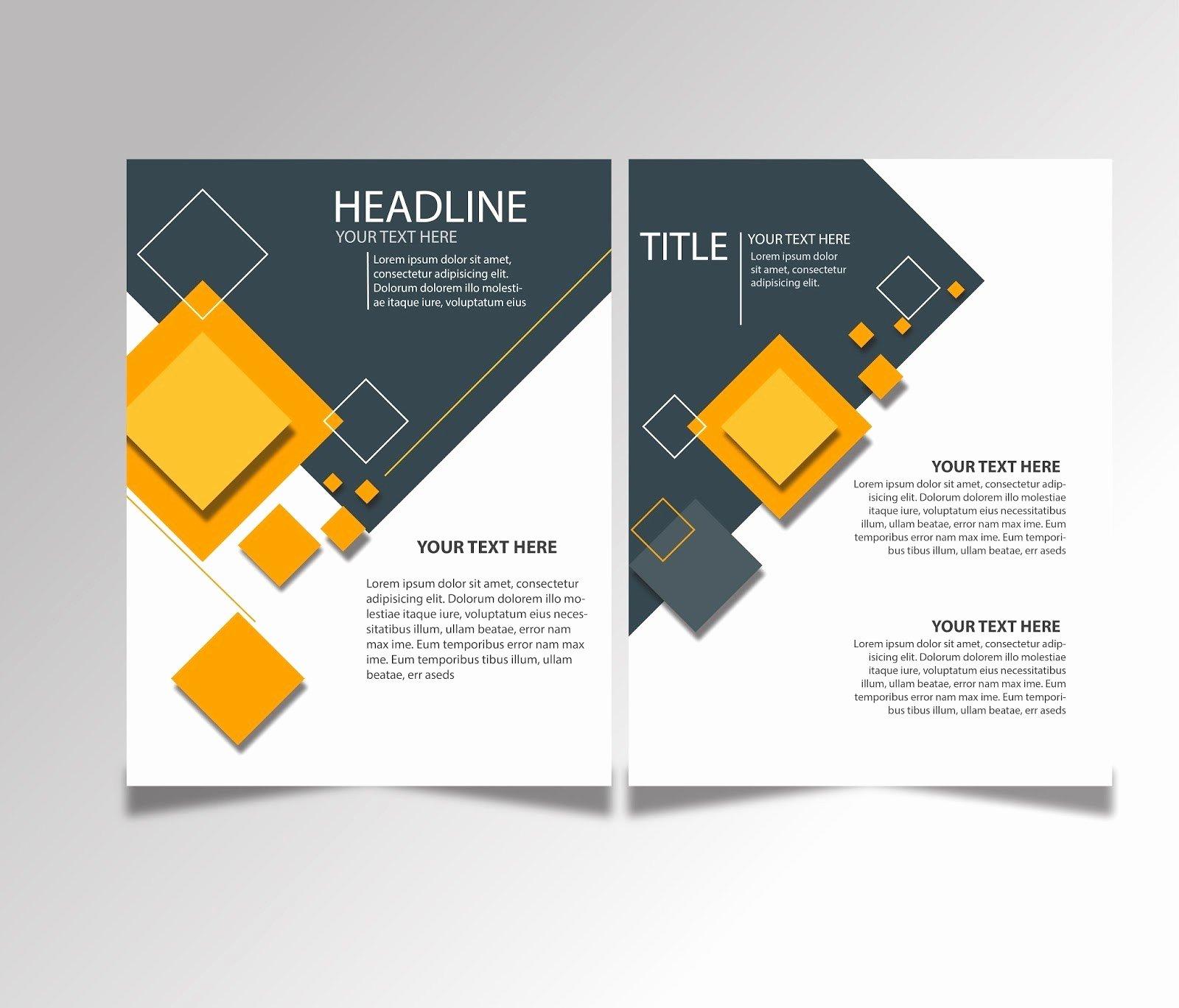 Brochure Template Illustrator Free Download